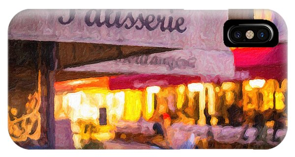 Patisserie - Paris Art Print IPhone Case