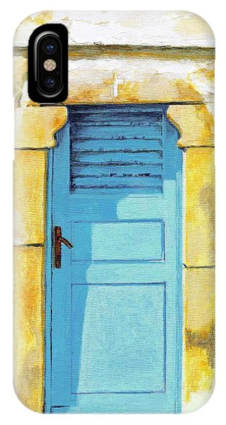 Patmos Door IPhone Case