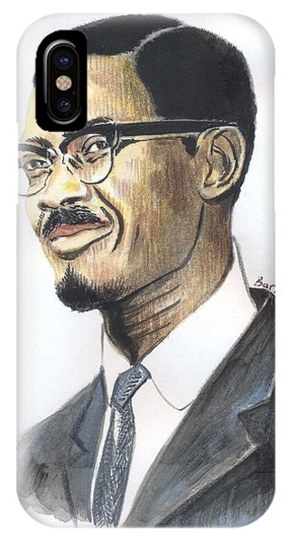 Patrice Emery Lumumba IPhone Case