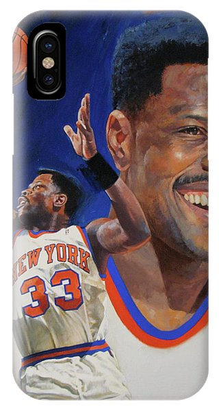 Patrick Ewing IPhone Case