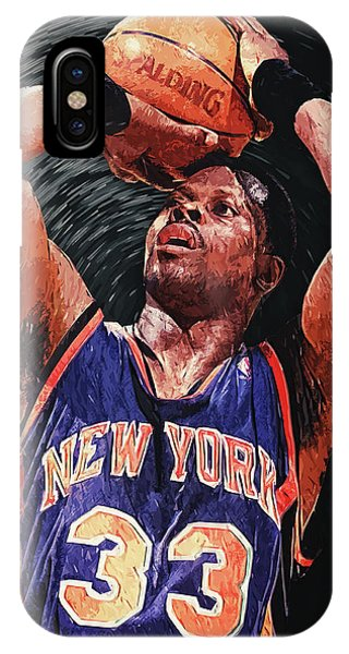 Assisted Living iPhone Case - Patrick Ewing by Zapista Zapista