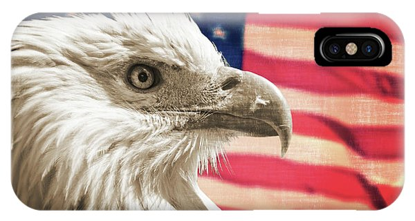 July 4 iPhone Case - Patriot by Delphimages Photo Creations