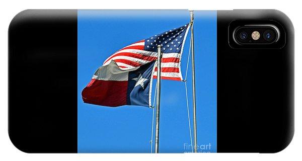 Patriot Proud Texan  IPhone Case