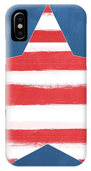 Patriotic Star IPhone Case