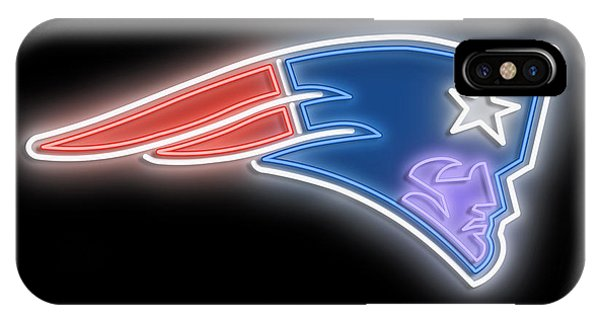 New Trend iPhone Case - Patriots Neon Sign by Ricky Barnard