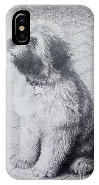 Patsy's Puppy IPhone Case