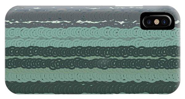 IPhone Case featuring the digital art Pattern 203 by Marko Sabotin