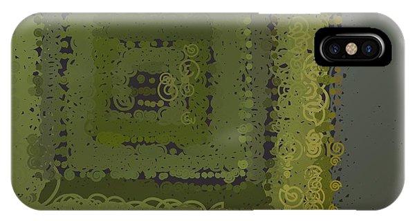 IPhone Case featuring the digital art Pattern 208 by Marko Sabotin