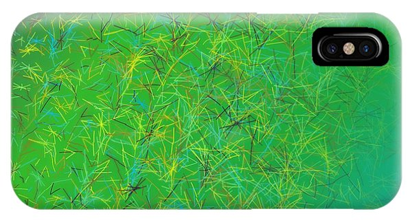 IPhone Case featuring the digital art Pattern 215 by Marko Sabotin