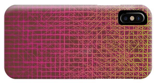 IPhone Case featuring the digital art Pattern 217 by Marko Sabotin