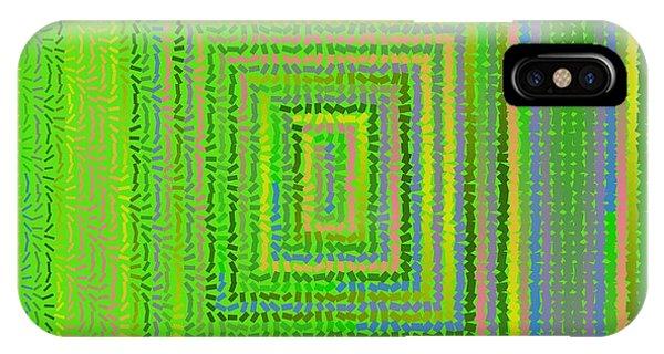 IPhone Case featuring the digital art Pattern 231 by Marko Sabotin