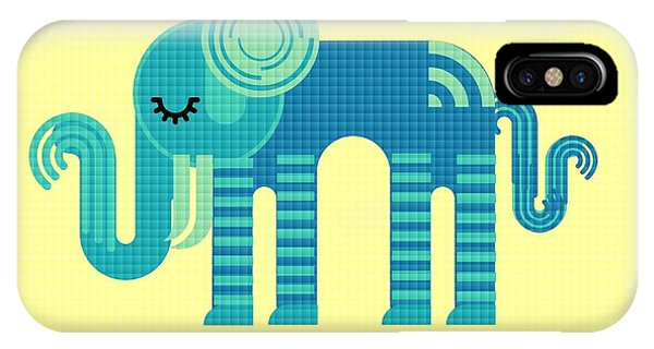 Pattern Elephant IPhone Case