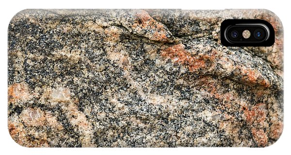 Pattern In A Granite Rock - Square Format IPhone Case