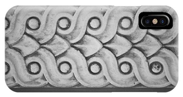 J Paul Getty iPhone Case - Pattern by Teresa Mucha