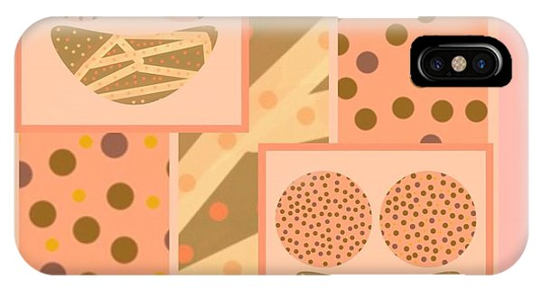 The Art Of Gandy iPhone Case - Patterns Of Finding Solace 300 by Joan Ellen Kimbrough Gandy