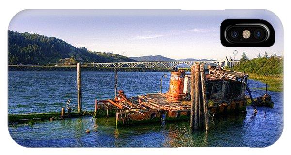 Patterson Bridge Oregon IPhone Case