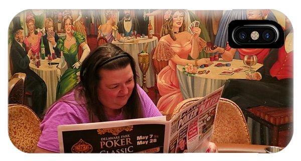Pattie Poker IPhone Case