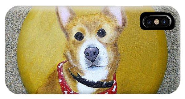 Patti's Grand-dog IPhone Case