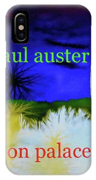 Paul Auster Poster Moon Palace IPhone Case