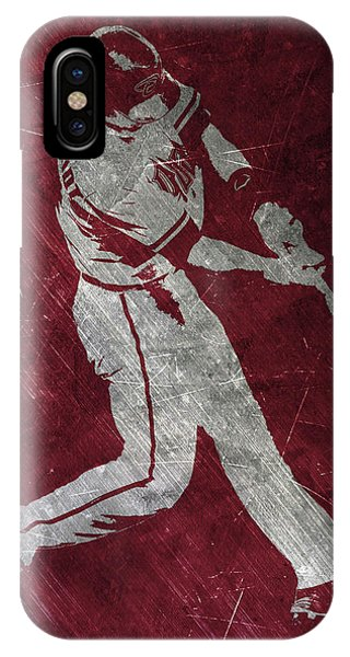Paul Goldschmidt Arizona Diamondbacks Art IPhone Case