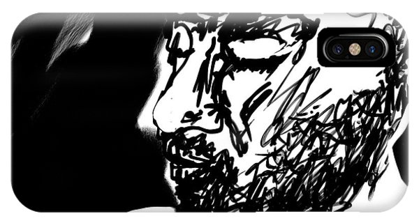 Paul Ramnora Self-portrait IPhone Case