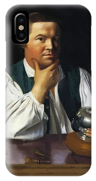 Paul Revere 1770 IPhone Case