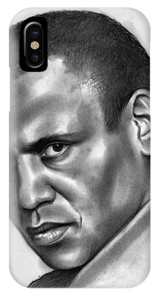 Rights iPhone Case - Paul Robeson by Greg Joens
