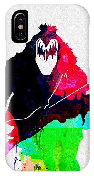 Kiss iPhone Case - Paul Watercolor by Naxart Studio