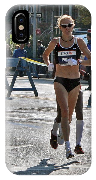 Paula Radcliffe Nyc Marathon IPhone Case