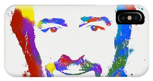 Pavarotti Colorful Paint Splatter IPhone Case