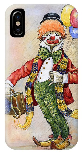 iPhone Case - Pavlov The Clown by Anthony Forster