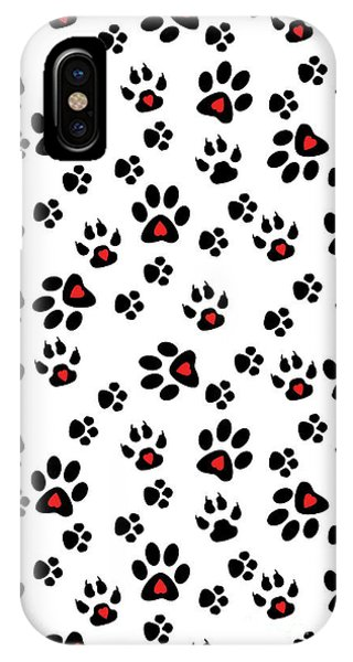 Paw Foot Prints IPhone Case