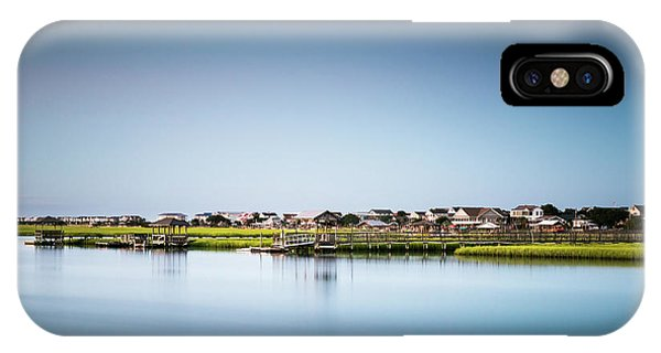 Long Beach Island iPhone Case - Pawleys Island North Causeway by Ivo Kerssemakers