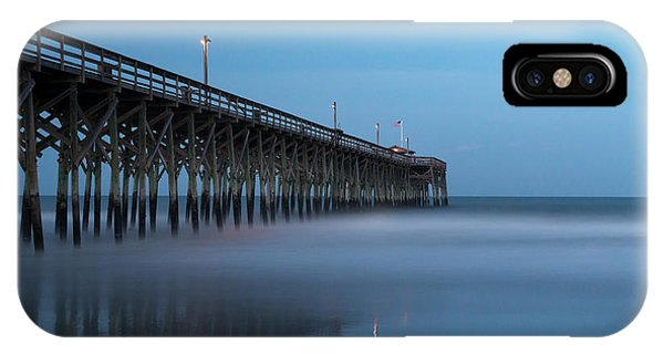 Long Beach Island iPhone Case - Pawleys Island Pier During The Blue Hour by Ivo Kerssemakers