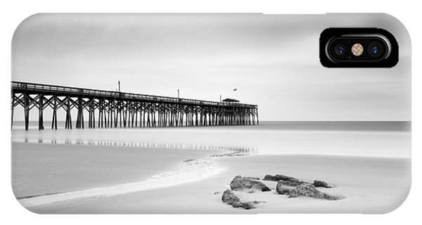 Long Beach Island iPhone Case - Pawleys Island Pier I by Ivo Kerssemakers