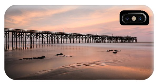 Long Beach Island iPhone Case - Pawleys Island Pier Sunset by Ivo Kerssemakers