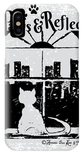 Paws And Reflect IPhone Case