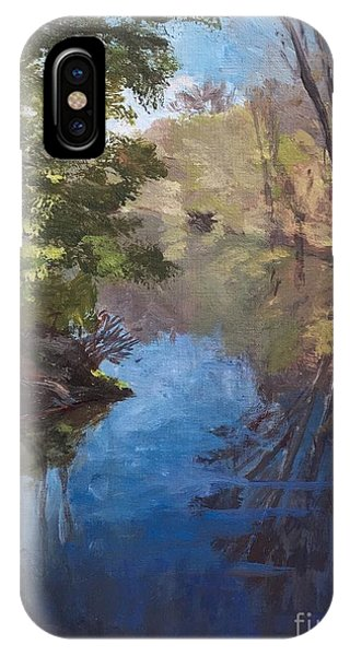 Pawtucket Canal IPhone Case