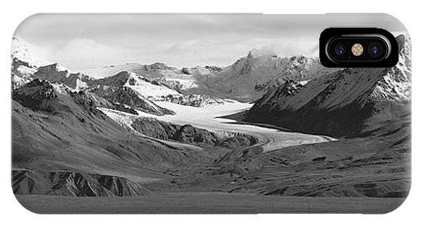 Paxson Glacier Wide IPhone Case