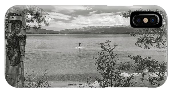 Payette Lake Boarder IPhone Case
