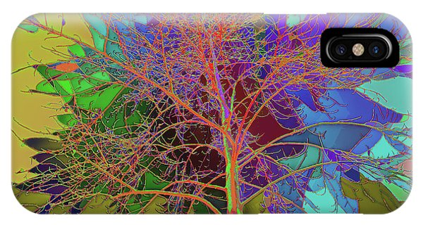 P C C Elm In The Wait Of Bloom IPhone Case