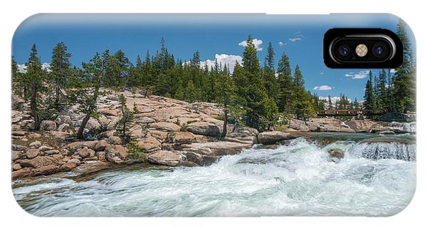IPhone Case featuring the photograph Pct Crossing by Sharon Seaward