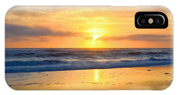 IPhone Case featuring the photograph Pea Island In November by Barbara Ann Bell