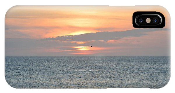 IPhone Case featuring the photograph Pea Island Sunrise by Barbara Ann Bell