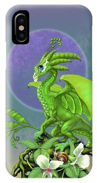 Pea Pod Dragon IPhone Case