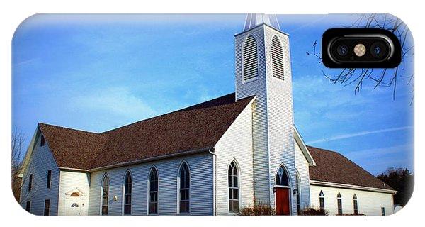 Peace Church IPhone Case