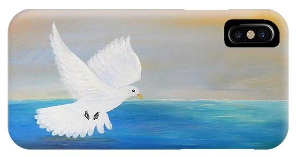 Peace Descending IPhone Case