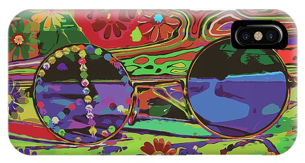 IPhone Case featuring the digital art Peace Art by Eleni Mac Synodinos