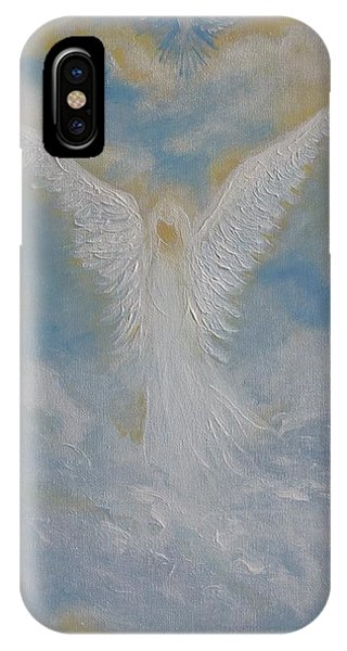 Peace From An Angel  IPhone Case