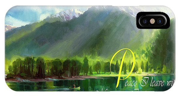 Christianity iPhone Case - Peace I Give You by Steve Henderson